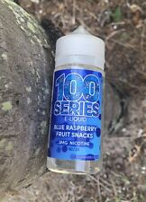 100 Series Blue Raspberry Fruit Candy Liquid Juice Premium 100ml 0 FREE SHIPPING