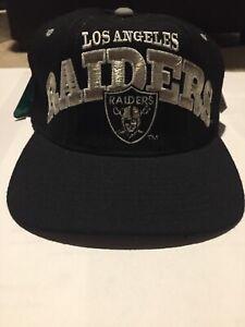 Los Angeles Raider Starter Hat Pro Line With Emmit Smitt Tag