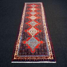 Orient Teppich Läufer 300 x 96 cm Perserteppich Rot Blau Red Carpet Rug Runner