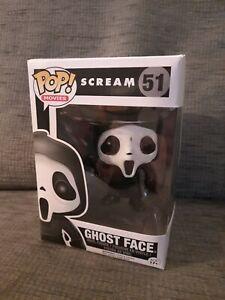 Funko Pop! Movies #51 Ghostface - Scream (Vaulted)FAST POSTAGE