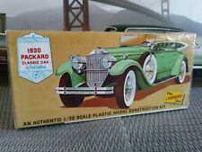 1/32 scale 1930 Packard by Lindberg, 1967 release, vintage factory sealed
