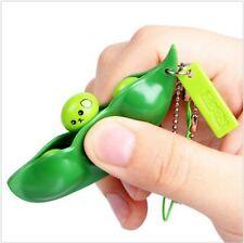 Antistress Schlüsselanhänger/ Handy - Squishy Fidget Pea Bean Sojabohnen Erbse 2