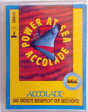 POWER AT SEA ACCOLADE 1987 Made in England UK game gioco x Commodore 64 128