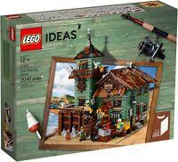 BOX DAMAGE - LEGO Ideas 21310 - Vecchio Negozio dei Pescatori SCATOLA AMMACCATA