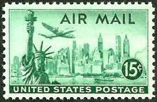 sc#C35 us/usa airmail stamp og mint nh mnh xf gem