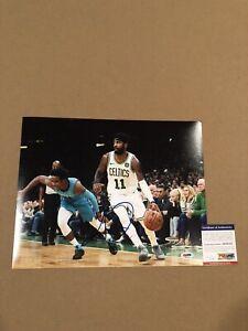 Kyrie Irving Signed 11x14 Photo Boston Celtics Cavaliers NBA STAR w/ PSA COA