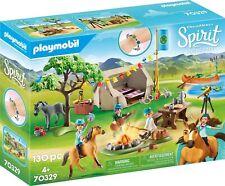 Playmobil 70329 DreamWorks Spirit, Summer Campground