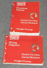 2003 ford crown victoria mercury grand marquis service repair manual set