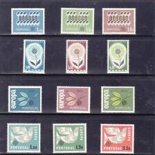 Cept Europa Portugal Year Sets (1962 - 63 - 64 - 65)