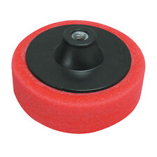 SPUGNA DI LUCIDATURA ultra morbida rossa 150mm  SILVERLINE PROFESSIONALE 868541