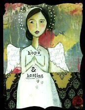 Angel Wings Hope & Healing Warm Hugs & Healing Prayers RELIGIOUS Greeting Card