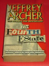 wmf SALE : JEFFREY ARCHER ~ THE FOURTH ESTATE
