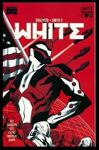 WHITE#2 BLACK MASK COMICS 2021 LIMITED to 2500 LOW PRINT (1ST PRINT) CHAPTER 2