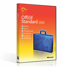 MICROSOFT OFFICE 2010 STANDARD for 1PC Windows Lifetime - Multiple Language