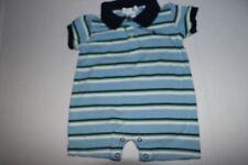 Ralph Lauren Baby Boy's Striped Short Sleeve Polo One Piece Size 3 Months EUC