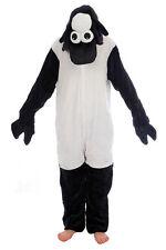 Animal Mouton Noir onesiee kigurumi Costume Déguisement Pull à capuche pyjama