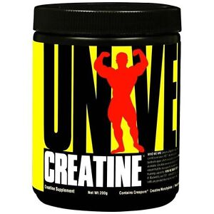 Universal 200g  Micronized CREATINE Powder 40 Servings BUILD MUSCLE