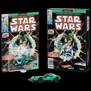 SDCC 2021 Mattel Exclusive Hot Wheels Star Wars Green Darth Vader Car CONFIRMED