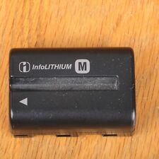 Sony NP-FM500H Battery Genuine For Sony A57 A65 A77 A99 A350 A550 Camera
