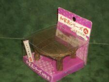 "Japanese Dollhouse Miniature Furniture Wood Low Dining Table ""CHABUDAI""  New"