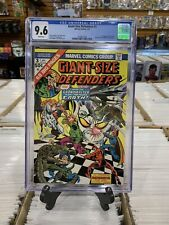 Giant-Size Defenders #3 CGC 9.6 White. 1st Appearance Of Korvac