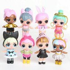New 6 - 8 Pcs LOL Dolls L.O.L Surprise Ball Lil Sisters Pets Toys Girls Set