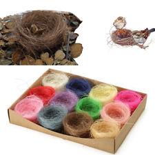 Natural Material Bird Nest Wild Birds Animals Nesting Home House Random Color