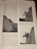 1899 Caballos Mountain Escaladores Italiano Caballería Hunters