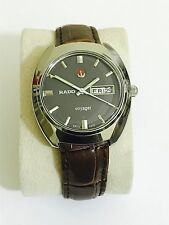 Vintage Rado Voyager día/fecha Reloj para Hombres Automático