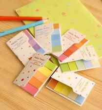 Rainbow Colorful Stick Post-it / Sticky Note / Memo / Writing Pad