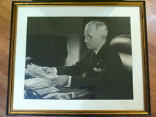President Harry Truman Autographed Personalized Original Photograph White House