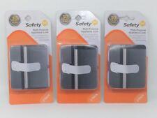 Safety 1st Multi-Purpose Appliance Lock Latch - Lot of 3 (2 Packs)