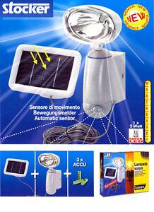 Lampada solare - Stocker mod. BAITA SENSOR