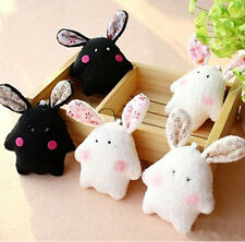 Plush Rabbit Animal Toys Pendant PDA Mobile Cell Phone Bags Straps Charm