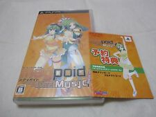 7-14 Days to USA. W/Reward Code USED PSP Megpoid the Music # Japanese Version