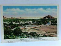 Phoenix Arizona Biltmore Hotel Linen Vintage Postcard