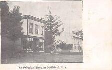 c.1905 Principal Store in Durham NY postcard Greene county