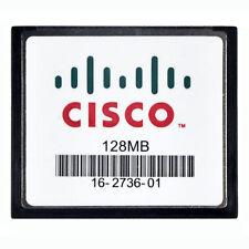 CISCO 128MB CompactFlash CF Memony Card GENUINE SLC Industrial Grade