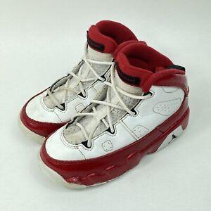 Nike Air Jordan 9 Retro BT Gym Red Athletic Shoes Sz 9C 401812-160