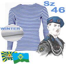 """Sz 46 GOST-83 WINTER VDV Blue Striped T-Shirt """"TELNYASHKA"""" USSR"""