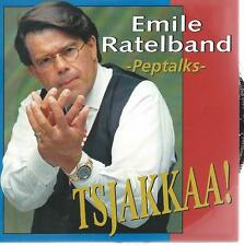 CD album - EMILE RATELBAND - PEPTALKS - TSJAKKAA ! HOLLANDSE GOEROE