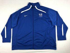 Central Connecticut Blue Devils Nike Jacket Men's Blue New Multiple Sizes