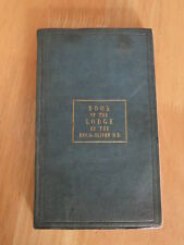 The Book of The Lodge or Officers Manual by Rev G Oliver 1849 First Edition