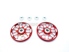HG 19MM BBS Style Red Aluminum Rollers For Tamiya Mini 4WD 94780