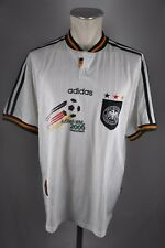 Allemagne maillot 1996 taille M écusson Adidas Blanc EM 96 Jersey Home WM GERMANY