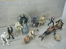 BUNDLE OF 10 STAR WARS POWER OF THE FORCE+POTF 2  FIGURES AND VEHICLES KENNER