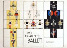 Das Triadische Ballet, 1922, Oskar Schlemmer, Bauhaus Ballet Poster