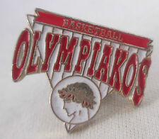 Olympiakos Basketball Metal Pin Olympiacos Piraeus Greece