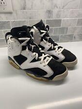 info for 8d026 a8ab0 Nike Air Jordan VI 6 Retro White Black Oreo 384664-101 Sneakers RARE Sz 9