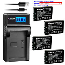 Kastar Battery LCD Charger for Kodak KLIC-5001 & Kodak EasyShare Z760 Zoom